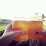 Knights Ale by NoDa Brewing at Charlotte Knights game